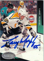 LARRY MURPHY PITTSBURGH PENGUINS AUTOGRAPHED HOCKEY CARD #20713G