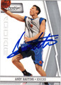 ANDY RAUTINS AUTOGRAPHED ROOKIE BASKETBALL CARD #20812P