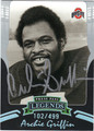 ARCHIE GRIFFIN AUTOGRAPHED & NUMBERED FOOTBALL CARD #20812Y