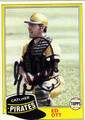 ED OTT AUTOGRAPHED VINTAGE BASRBALL CARD #20912T