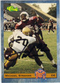 MICHAEL STRAHAN TEXAS SOUTHERN UNIVERSITY AUTOGRAPHED ROOKIE FOOTBALL CARD #20913M