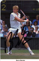 BORIS BECKER AUTOGRAPHED TENNIS CARD #20913O