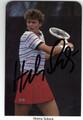 HELENA SUKOVA AUTOGRAPHED TENNIS CARD #21013A
