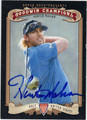 HUNTER MAHAN AUTOGRAPHED GOLF CARD #21013G