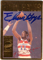 ELVIN HAYES AUTOGRAPHED BASKETBALL CARD #21212C