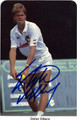 STEFAN EDBERG AUTOGRAPHED TENNIS CARD #21113F
