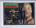 Rob Van Dam utographed Wrestling Card 2125
