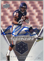 EARL BENNETT CHICAGO BEARS AUTOGRAPHED PIECE OF THE GAME ROOKIE FOOTBALL CARD #21413H