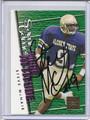 Steve McNair Autographed Rookie Football Card 2166