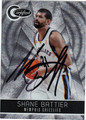 SHANE BATTIER AUTOGRAPHED & NUMBERED BASKETBALL CARD #21812B