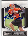 JAKE DELHOMME CLEVELAND BROWNS AUTOGRAPHED FOOTBALL CARD #21913F