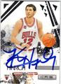 KIRK HINRICH CHICAGO BULLS AUTOGRAPHED BASKETBALL CARD #22113F