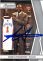 AMAR'E STOUDEMIRE NEW YORK KNICKS AUTOGRAPHED BASKETBALL CARD #22513G