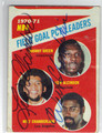 LEW ALCINDOR & WILT CHAMBERLAIN DOUBLE AUTOGRAPHED VINTAGE BASKETBALL CARD #22513K