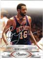 BOB LANIER AUTOGRAPHED BASKETBALL CARD #22612D