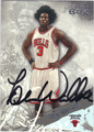 BEN WALLACE CHICAGO BULLS AUTOGRAPHED BASKETBALL CARD #22613B