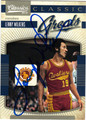 LENNY WILKENS AUTOGRAPHED BASKETBALL CARD #22612Q