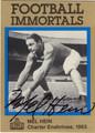MEL HEIN AUTOGRAPHED FOOTBALL CARD #22812L