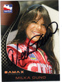 MILKA DUNO AUTOGRAPHED INDY CARD #22813C