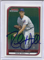 Rich Hill Autographed Baseball Card 2312