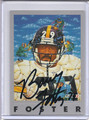 Barry Foster Autographed Football Card 2316