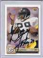 Barry Foster Autographed Football Card 2317