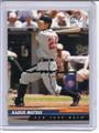 Kazuo Matsui Autographed Baseball Card 2417