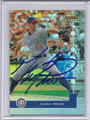 Mark Prior Autographed Baseball Card 2500