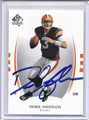 Derek Anderson Autographed Football Card 2587