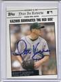 Scott Kazmir Tampa Bay Rays Autographed Baseball Card 2835