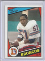 Tom Jackson Autographed Football Card 2937