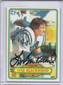 Lyle Blackwood Autographed Football Card 2909