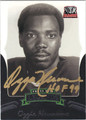 OZZIE NEWSOME UNIVERSITY OF ALABAMA AUTOGRAPHED FOOTBALL CARD #30213A