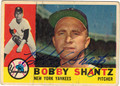 BOBBY SHANTZ AUTOGRAPHED VINTAGE BASEBALL CARD #30312J