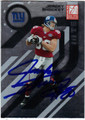 JEREMY SHOCKEY NEW YORK GIANTS AUTOGRAPHED FOOTBALL CARD #30313D