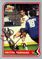 HECTOR MARINARO AUTOGRAPHED SOCCER CARD #30412L
