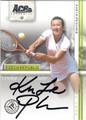 KVETA PESCHKE AUTOGRAPHED TENNIS CARD #30413E