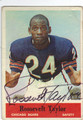 ROOSEVELT TAYLOR CHICAGO BEARS AUTOGRAPHED VINTAGE FOOTBALL CARD #30413H
