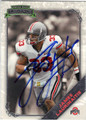 JAMES LAURINAITIS AUTOGRAPHED ROOKIE FOOTBALL CARD #30513i