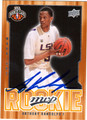 ANTHONY RANDOLPH AUTOGRAPHED ROOKIE BASKETBALL CARD #30812V