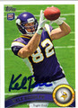 KYLE RUDOLPH AUTOGRAPHED ROOKIE FOOTBALL CARD #30812G