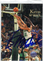 KEVIN McHALE AUTOGRAPHED BASKETBALL CARD #30912E