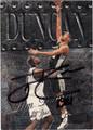 TIM DUNCAN SAN ANTONIO SPURS AUTOGRAPHED BASKETBALL CARD #30913D