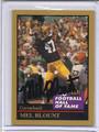 Mel Blount Autographed Football Card 3114