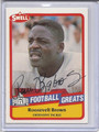 Roosevelt Brown Autographed Football Card 3121