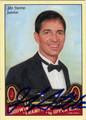 JOHN STOCKTON AUTOGRAPHED BASKETBALL CARD #31212A