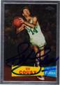 BOB COUSY BOSTON CELTICS AUTOGRAPHED BASKETBALL CARD #31512B