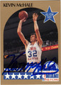 KEVIN McHALE AUTOGRAPHED BASKETBALL CARD #31512P