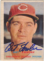 ART FOWLER AUTOGRAPHED VINTAGE BASEBALL CARD #31612N