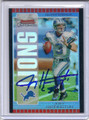 Joey Harrington Autographed Football Card 3176